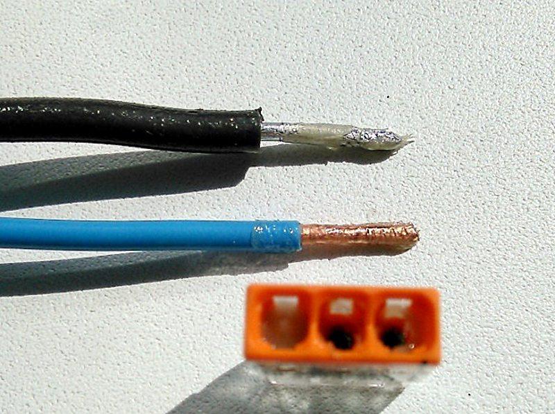 Как соединить медный и алюминиевый провод?