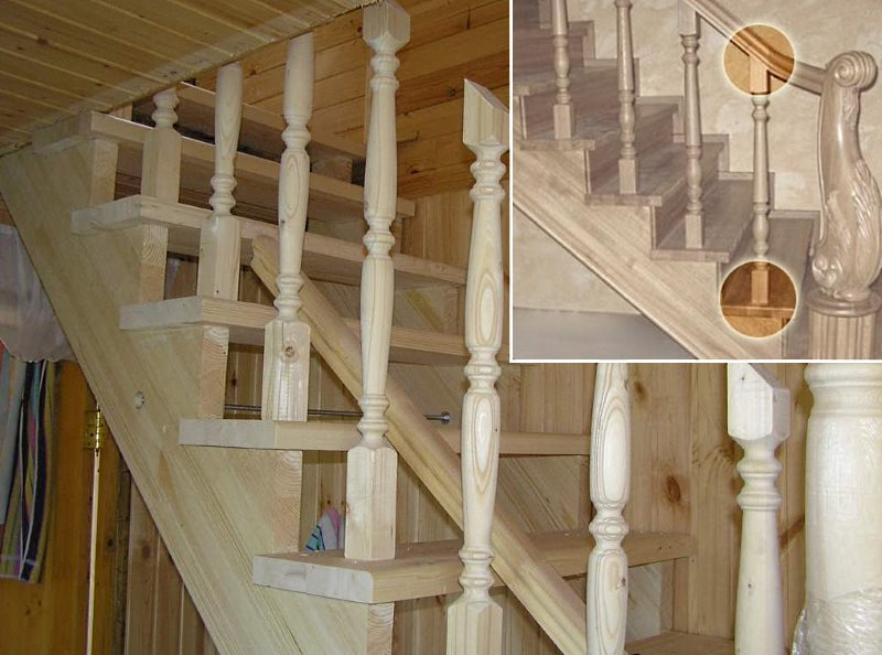 Ступени из дуба: цена дубовых лестниц и характеристики