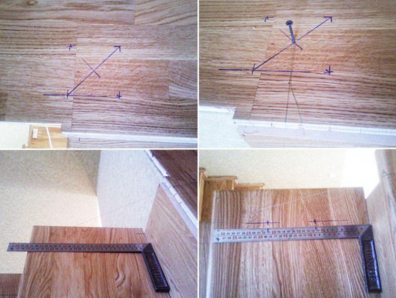 Как установить балясины на деревянную лестницу этап 1