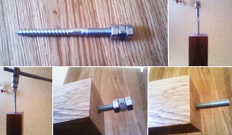 Как установить балясины на деревянную лестницу этап 3
