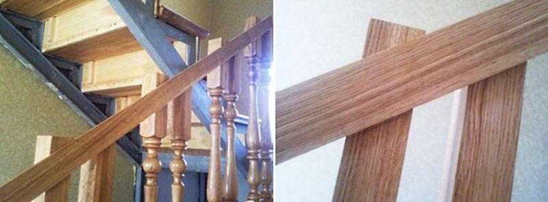 Как установить балясины на деревянную лестницу этап 5