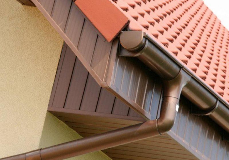 отливы на крыше