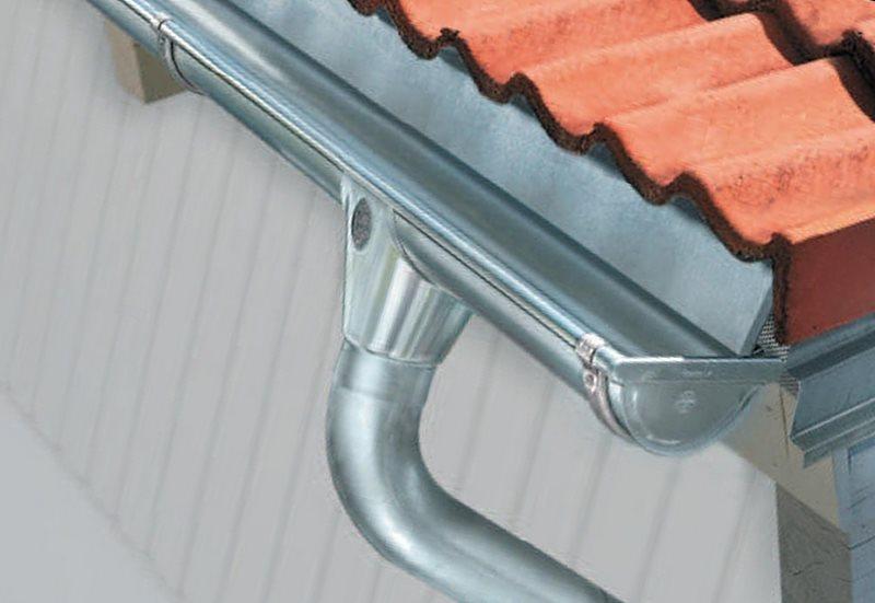 отлив на крышу из алюминия