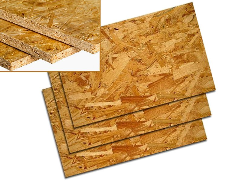 плиты ОСП (OSB – oriented strand board)
