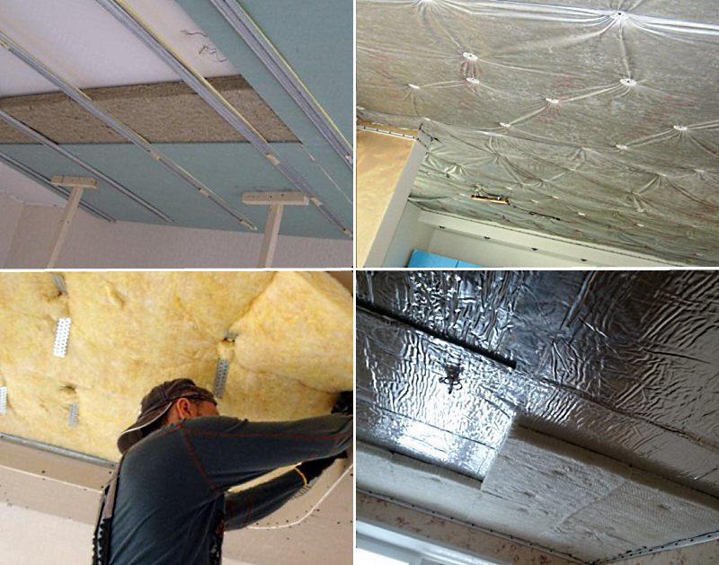 Шумоизоляция потолка в квартире заказать