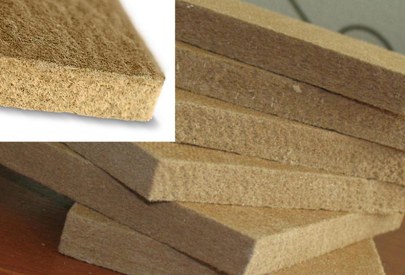 Мягкие древесноволокнистые плиты СОФТБОРД