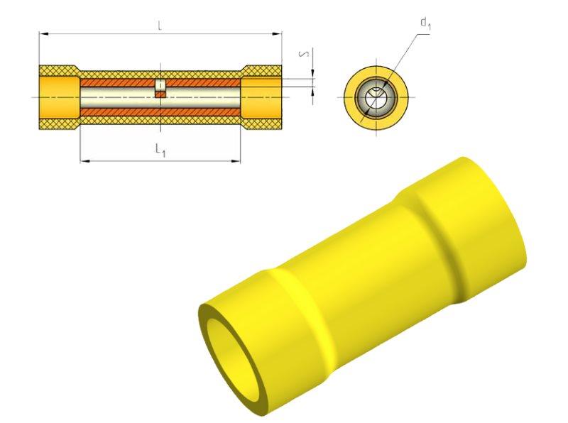 гильзы с изоляцией для опрессовки проводов