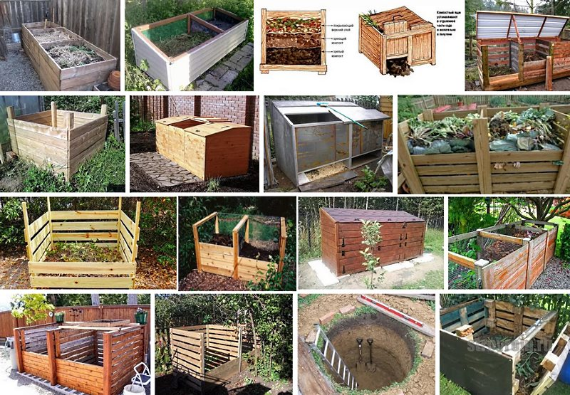 Другие варианты изготовления компостной ямы своими руками