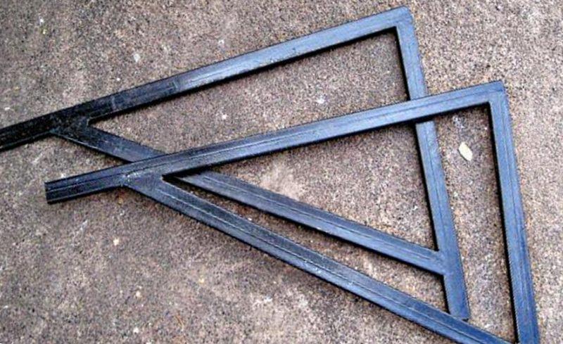 косынки из металлической трубы
