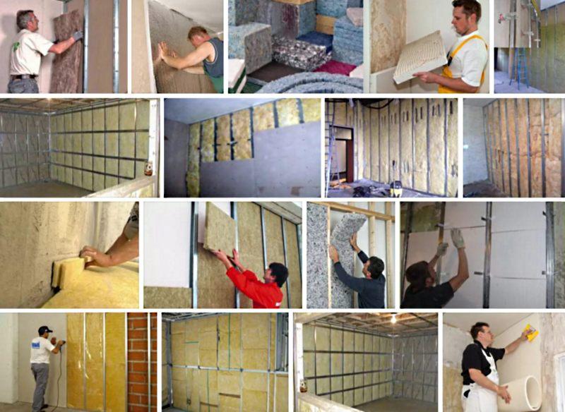 Примеры шумоизоляции стен в квартире своими руками