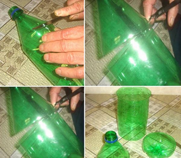 Как сделать цветы из пластиковых бутылок?