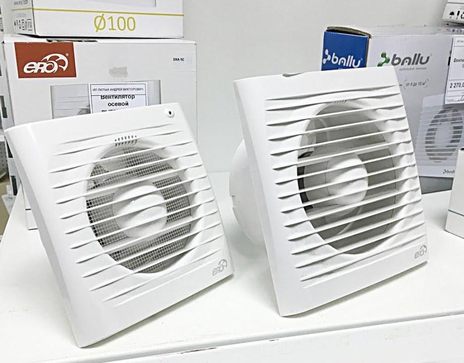 Бытовые накладные вентиляторы