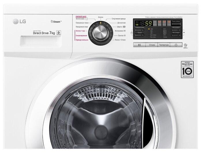 Обзор стиральной машины LG F12M7HDS3.
