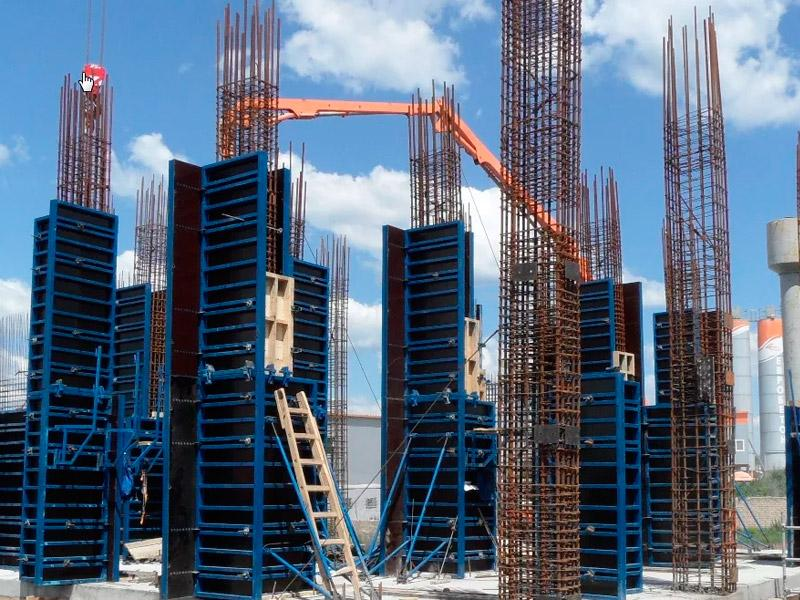 Поставка опалубки на строительные объекты