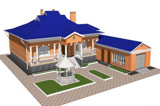 Строительство нового дома начинается с подготовки проекта