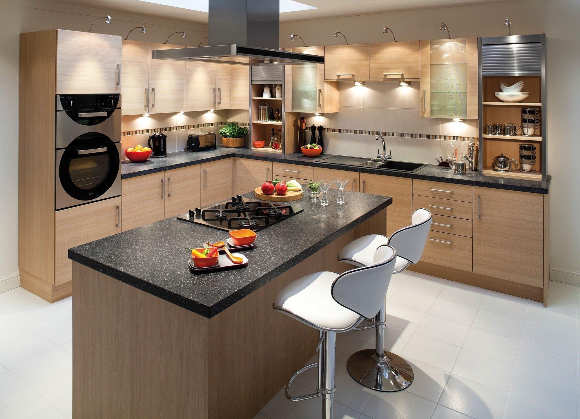 Как выбрать форму гарнитура для кухни?